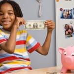 niños con dinero