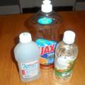 Detergente Casero Liquido con Vinagre para Limpiar en el Baño
