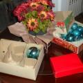 Decorando para las Navidades con su Familia