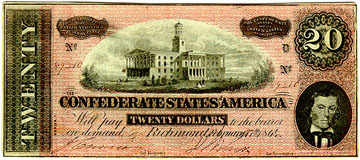 dinero confederado