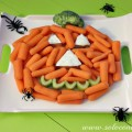 Calabaza Divertida y Nutritiva para la Merienda de Halloween