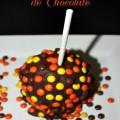 Regalos Hechos en Casa:Manzanas Cubierta con Chocolate