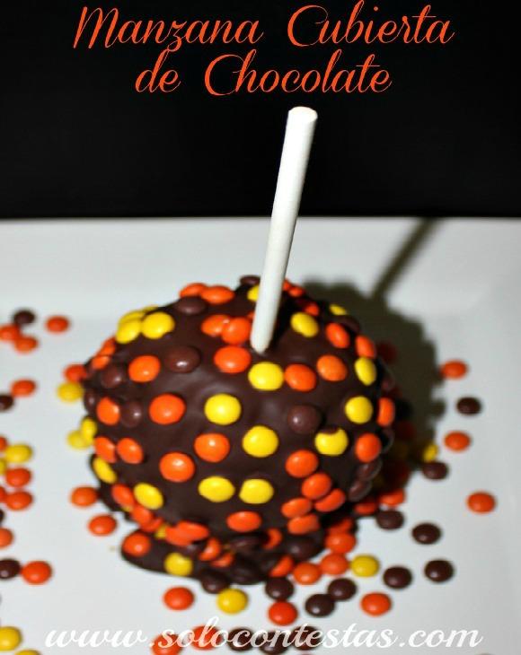 Manzana Cubierta de Chocolate