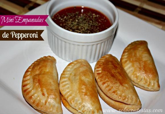Mini Empanadas de Pepperoni
