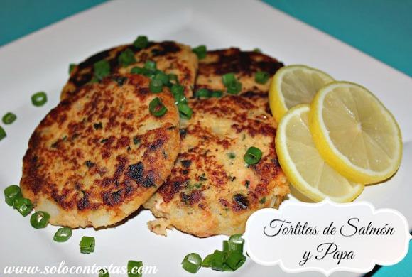 tortillas de salmon y papas