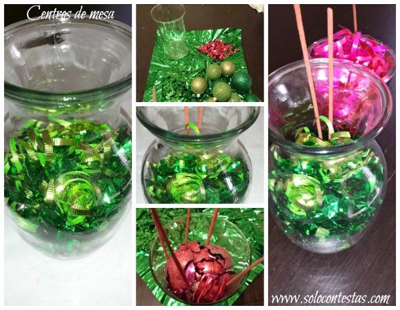C mo hacer un jarr n para mesa de comedor con cosas recicladas for Cosas del comedor