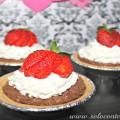 Pay de Chocolate con Fresas sin Hornear para San Valentin