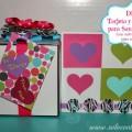 Tarjetas de San Valentin Hechas a Manos:DIY Tarjetas y Etiquetas