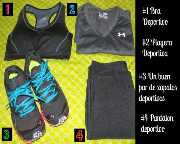 ropa de ejercicios
