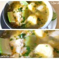 Sabrosa Sopa de Pescado con Chile Verde