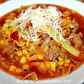 Sopa Italiana con Carne Molida Hecha en Casa #Saveonhelper