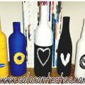 Botellas de Plastico y Vidrio Recicladas como Decoraciones para el Hogar