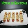 Receta para hacer Momias de Salchichas en Halloween