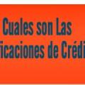 Infografía: Cuales son las Calificaciones de Crédito y que Significan