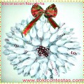 2 DIY Festivos Super Fáciles de Hacer:Corona y Copos de Navidad