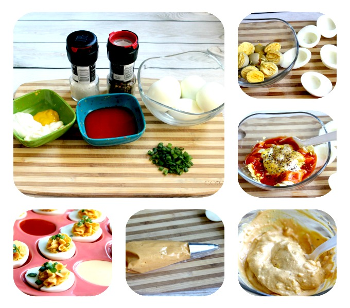 Deviled Eggs Step by Step