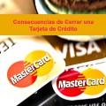 cancelar una tarjeta de credito